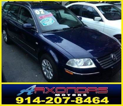 2002 Volkswagen Passat for sale at ARXONDAS MOTORS in Yonkers NY