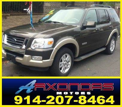 2008 Ford Explorer for sale at ARXONDAS MOTORS in Yonkers NY