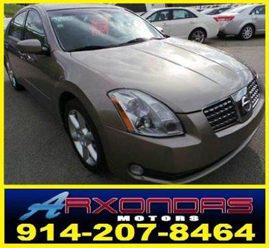 2005 Nissan Maxima for sale at ARXONDAS MOTORS in Yonkers NY