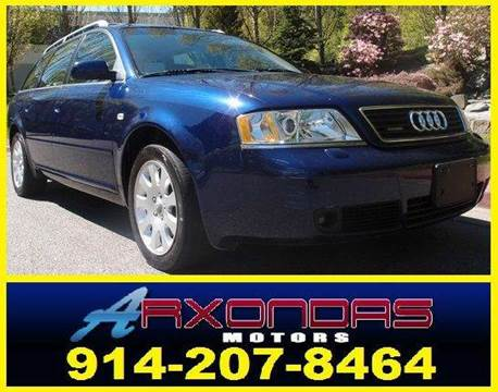 1999 Audi A6 for sale at ARXONDAS MOTORS in Yonkers NY
