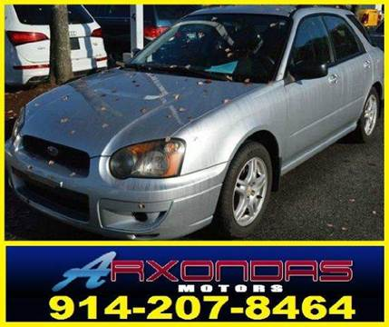 2005 Subaru Impreza for sale at ARXONDAS MOTORS in Yonkers NY