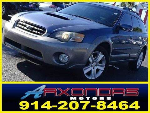 2005 Subaru Outback for sale at ARXONDAS MOTORS in Yonkers NY