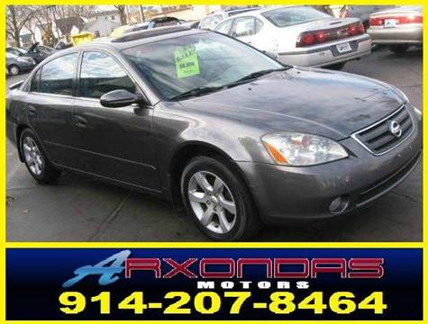 2004 Nissan Altima for sale at ARXONDAS MOTORS in Yonkers NY