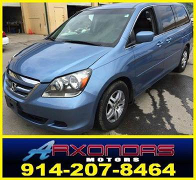 2005 Honda Odyssey for sale at ARXONDAS MOTORS in Yonkers NY