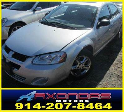 2006 Dodge Stratus for sale at ARXONDAS MOTORS in Yonkers NY