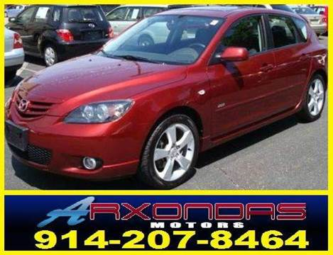 2006 Mazda MAZDA3 for sale at ARXONDAS MOTORS in Yonkers NY