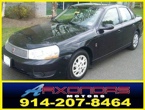 2003 Saturn L-Series for sale at ARXONDAS MOTORS in Yonkers NY