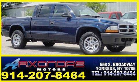 2004 Dodge Dakota for sale at ARXONDAS MOTORS in Yonkers NY
