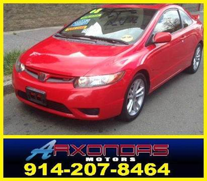 2008 Honda Civic for sale at ARXONDAS MOTORS in Yonkers NY