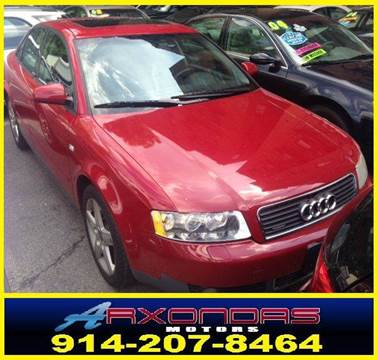 2003 Audi A4 for sale at ARXONDAS MOTORS in Yonkers NY