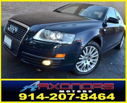 2006 Audi A6 for sale at ARXONDAS MOTORS in Yonkers NY