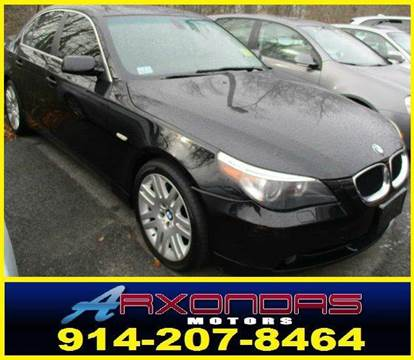 2006 BMW 5 Series for sale at ARXONDAS MOTORS in Yonkers NY