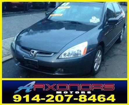 2003 Honda Accord for sale at ARXONDAS MOTORS in Yonkers NY