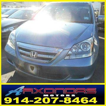 2006 Honda Odyssey for sale at ARXONDAS MOTORS in Yonkers NY