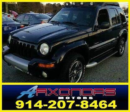 2003 Jeep Liberty for sale at ARXONDAS MOTORS in Yonkers NY