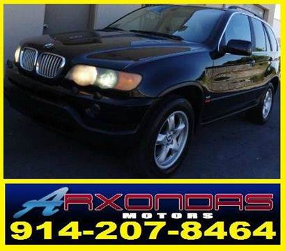 2001 BMW X5 for sale at ARXONDAS MOTORS in Yonkers NY