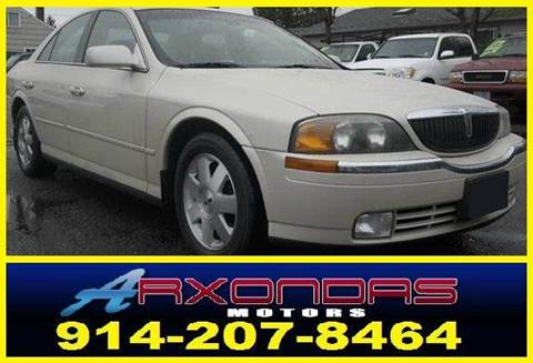 2002 Lincoln LS for sale at ARXONDAS MOTORS in Yonkers NY