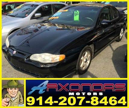 2001 Chevrolet Monte Carlo for sale in Yonkers, NY