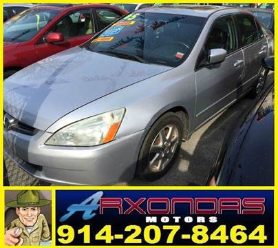 2005 Honda Accord for sale at ARXONDAS MOTORS in Yonkers NY
