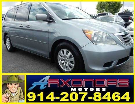 2008 Honda Odyssey for sale at ARXONDAS MOTORS in Yonkers NY