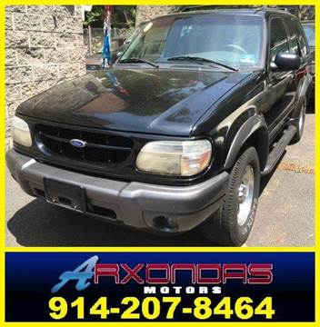 2000 Ford Explorer for sale at ARXONDAS MOTORS in Yonkers NY