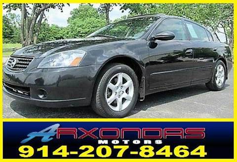 2005 Nissan Altima for sale at ARXONDAS MOTORS in Yonkers NY