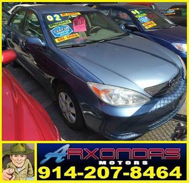 2002 Toyota Camry for sale at ARXONDAS MOTORS in Yonkers NY