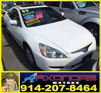 2005 Honda Accord for sale at ARXONDAS MOTORS in Yonkers NY