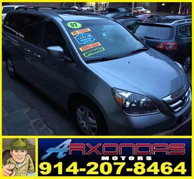 2007 Honda Odyssey for sale at ARXONDAS MOTORS in Yonkers NY