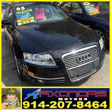 2005 Audi A6 for sale at ARXONDAS MOTORS in Yonkers NY
