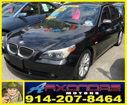 2005 BMW 5 Series for sale at ARXONDAS MOTORS in Yonkers NY