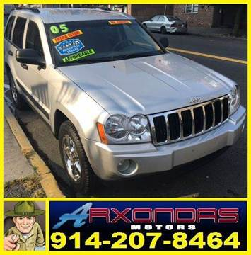 2005 Jeep Grand Cherokee for sale at ARXONDAS MOTORS in Yonkers NY
