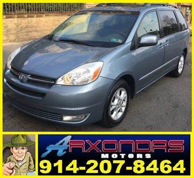 2005 Toyota Sienna for sale at ARXONDAS MOTORS in Yonkers NY