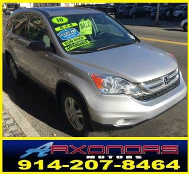2010 Honda CR-V for sale at ARXONDAS MOTORS in Yonkers NY