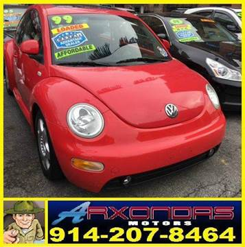 1999 Volkswagen New Beetle for sale at ARXONDAS MOTORS in Yonkers NY