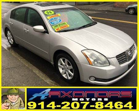 2006 Nissan Maxima for sale at ARXONDAS MOTORS in Yonkers NY