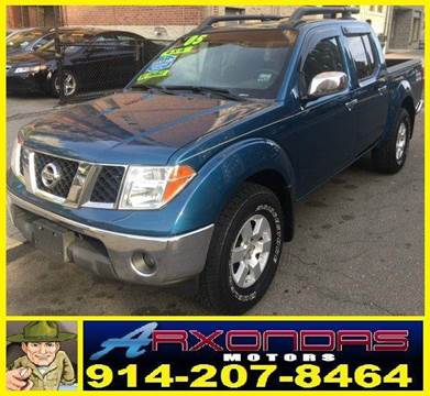 2005 Nissan Frontier for sale at ARXONDAS MOTORS in Yonkers NY