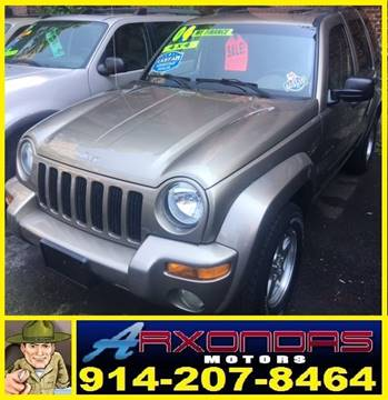 2004 Jeep Liberty for sale at ARXONDAS MOTORS in Yonkers NY