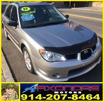 2007 Subaru Impreza for sale at ARXONDAS MOTORS in Yonkers NY