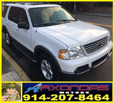 2003 Ford Explorer for sale at ARXONDAS MOTORS in Yonkers NY