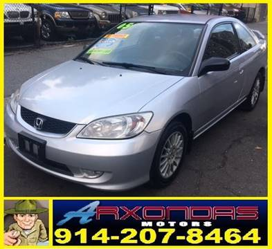 2005 Honda Civic for sale at ARXONDAS MOTORS in Yonkers NY