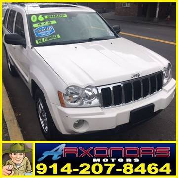 2006 Jeep Grand Cherokee for sale at ARXONDAS MOTORS in Yonkers NY