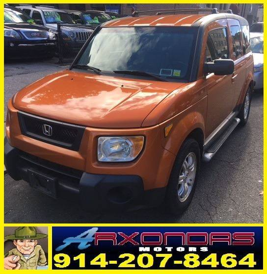 2006 Honda Element AWD EX-P 4dr SUV 4A In Yonkers NY