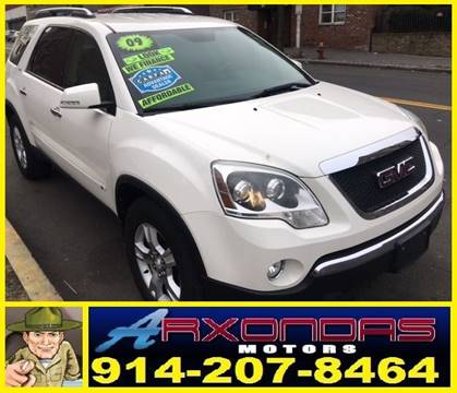 69fe1ed2185764 2009 GMC Acadia for sale in Yonkers