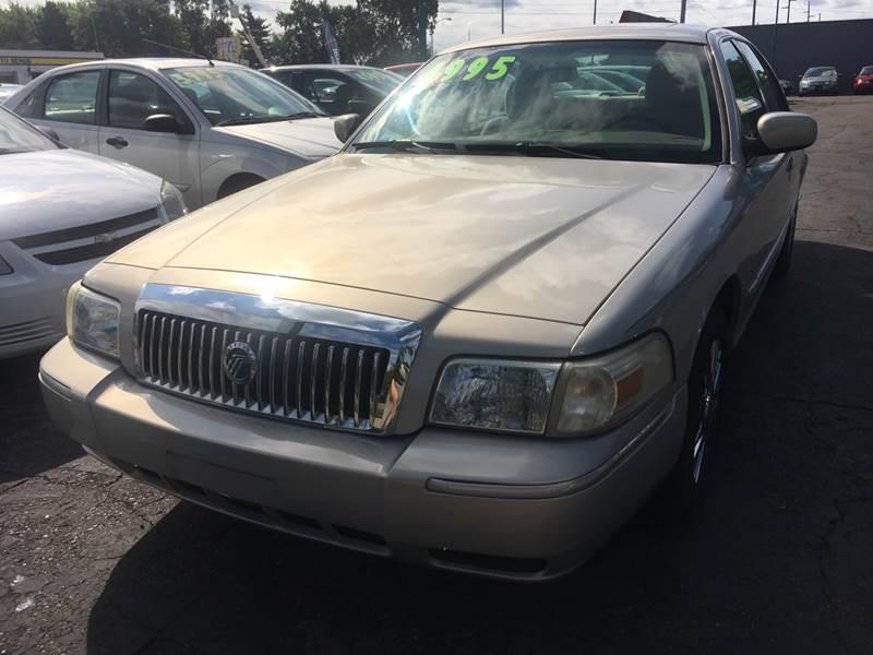 2006 Mercury Grand Marquis car for sale in Detroit