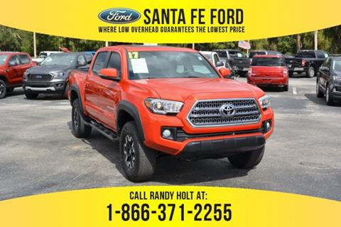 Toyota Gainesville Fl >> 2017 Toyota Tacoma For Sale In Gainesville Fl