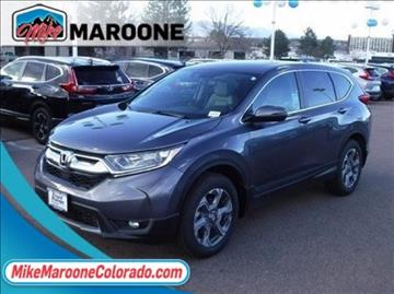 2017 honda cr v for sale colorado springs co for Front range honda colorado springs co