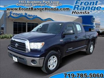 2008 Toyota Tundra for sale in Colorado Springs, CO