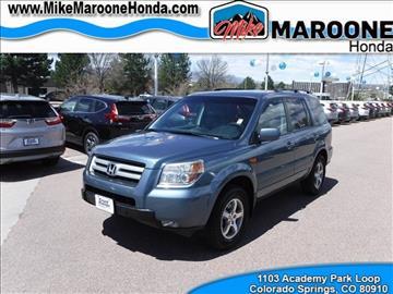 2008 Honda Pilot for sale in Colorado Springs, CO