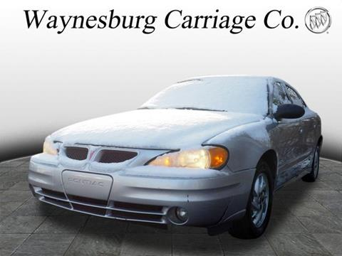 2003 Pontiac Grand Am for sale in Waynesburg, OH